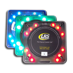 Restaurant Coaster Call Pager Systems Customer Pagers Lrs Uk