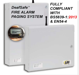 Deafsafe Ultra Deaf Person Fire Alarm Paging System Lrs Uk