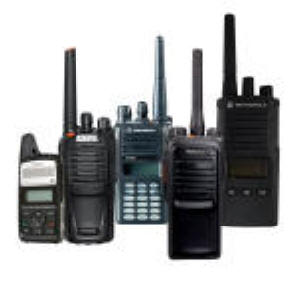 long range two way radio rental trade shows
