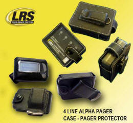 leather case pager protector