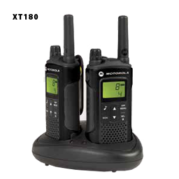 xt180 motorola long range two way radios pair