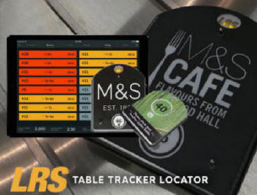 table tracker location system